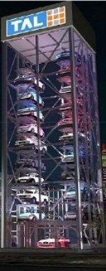 компактные вертикальные многоярусные парковки