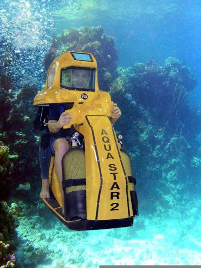 Бизнес идеи - Подводный скутер