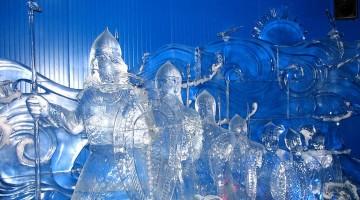Бизнес идея — Изготовление ледяных скульптур