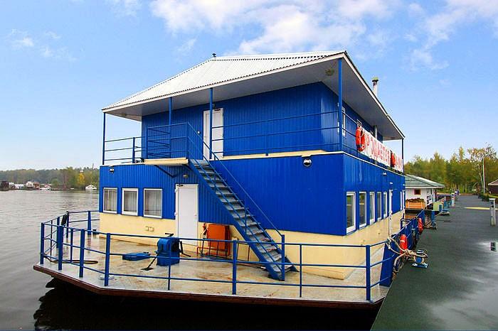 Бизнес идеи - плавучий дом и баня на воде