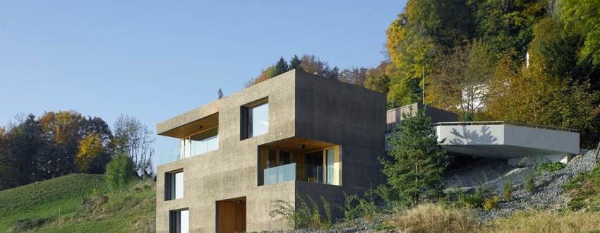 Современные дома из обычной земли
