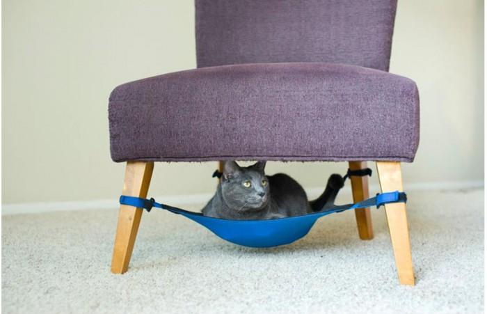 Бизнес идеи - Производство гамаков. Мини-гамаки для кошек.