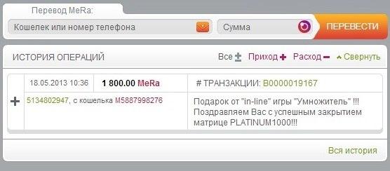 """Успешный Проект 2013 года - """"Умножитель"""""""