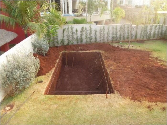 Как построить дачный бассейн своими руками