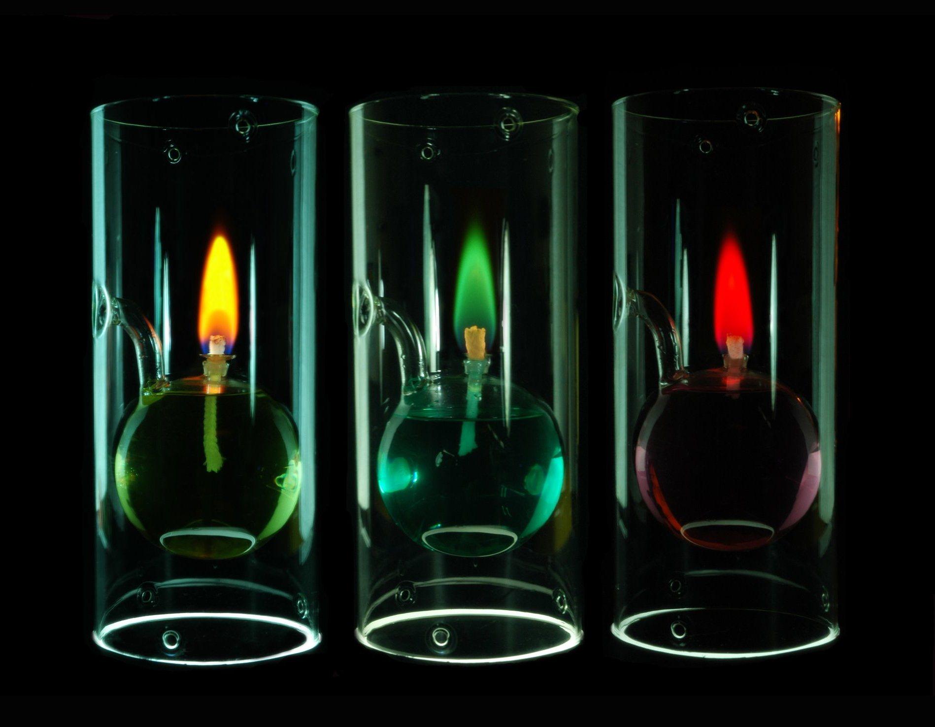 Свечей с разноцветным пламенем как сделать