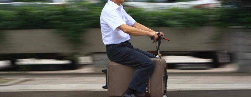 Бизнес идеи — Робот-чемодан и робот-пылесос