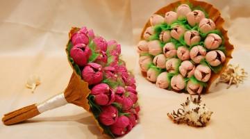 Бизнес идеи — букеты из конфет