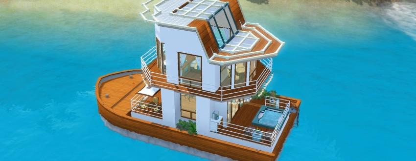Бизнес идеи — плавучий дом и баня на воде