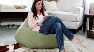 Бизнес идеи — бескаркасная дизайнерская мебель (Бин Бэг)