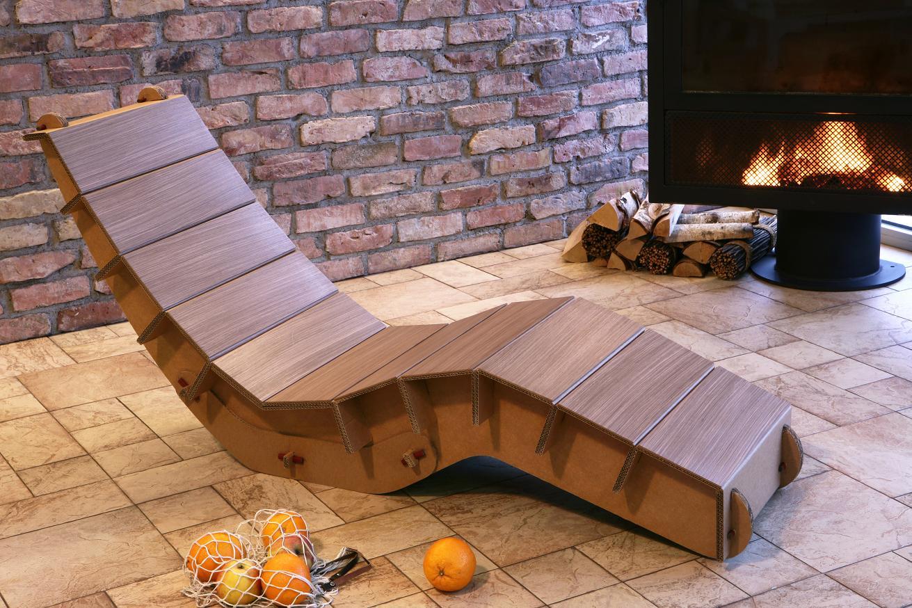 поделки из картона своими руками схемы мебель