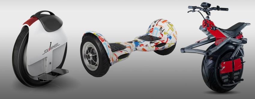 Скейтборд с бензиновым двигателем — новинка для бизнеса