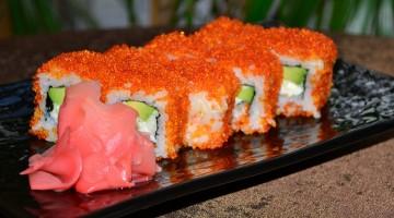 Приготовление и доставка суши на дом