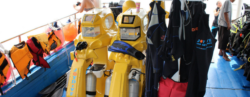 Бизнес идеи — Подводный скутер