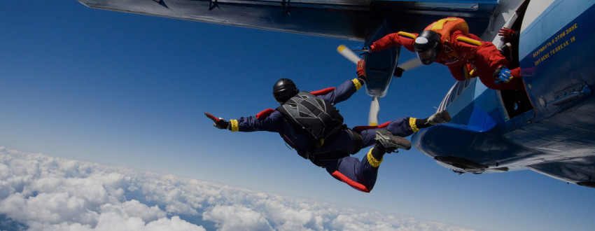 Бизнес на парашютном спорте