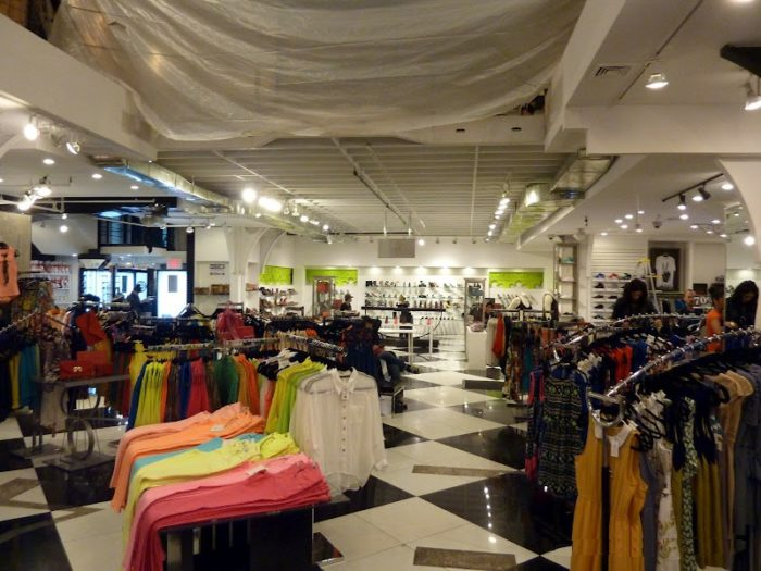 Магазин одежды