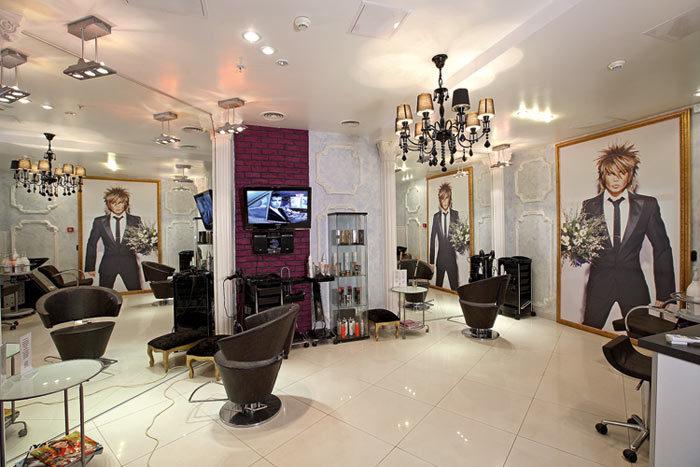 Дизайн интерьера в салоне красоты