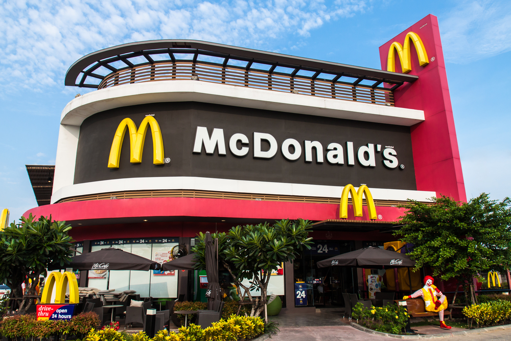 a description of mcdonald as a large corporation with restaurants all over the globe There are over 200,000 fast food restaurants in the united states and it is estimated that 50 million americans eat at one of them every single day the industry.