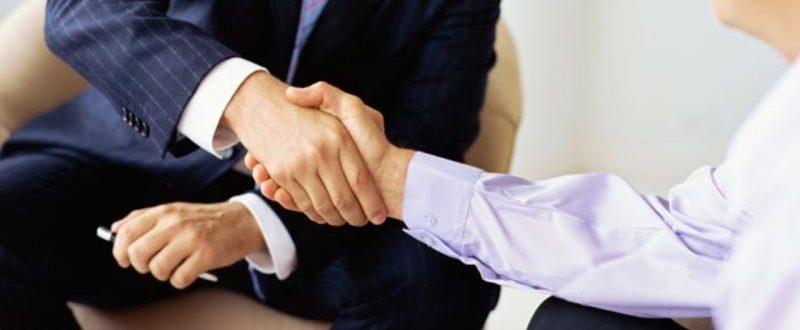 Рукопожатие - переговоры