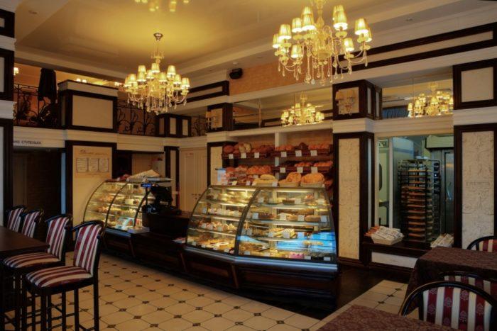 Мини-кафе в пекарне