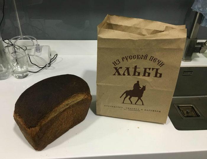 Хлеб выпечки Германа Стерлигова