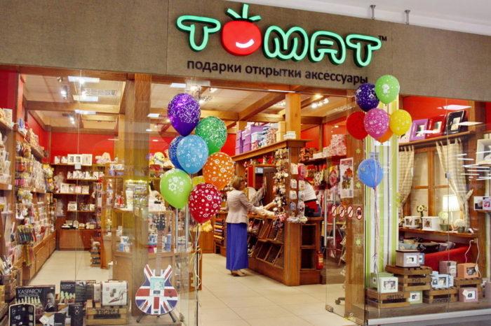 Магазин подарков в торговом комплексе