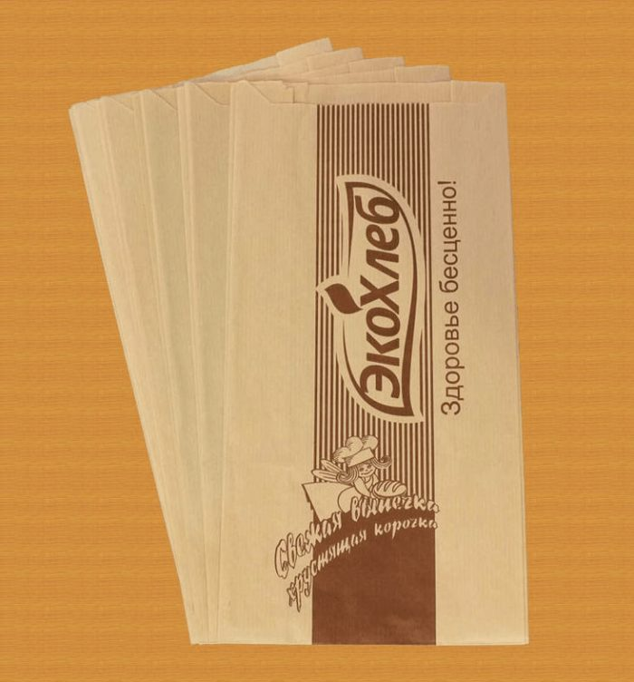 Бумажная упаковка с логотипом
