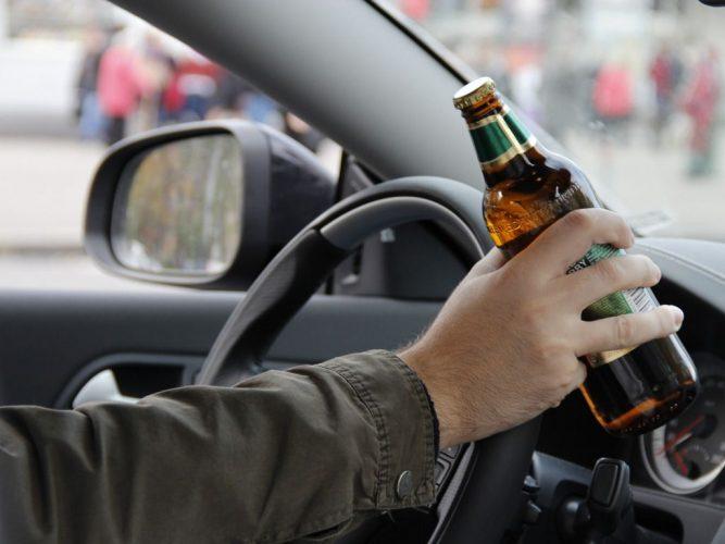 Водитель с алкоголем
